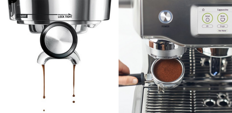 Coffee and milk quality breville oracle