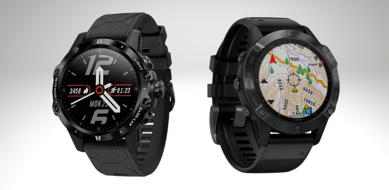 Coros Vertix vs Garmin Fenix 6 Design and Hardware