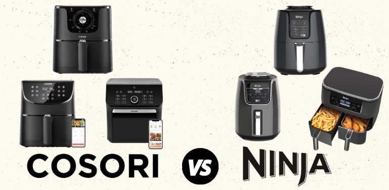 cosori vs ninja air fryer