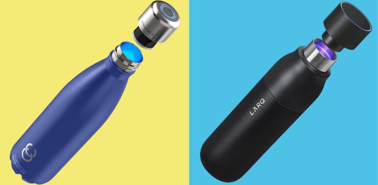 CrazyCap vs LARQ Self-Cleaning Bottles