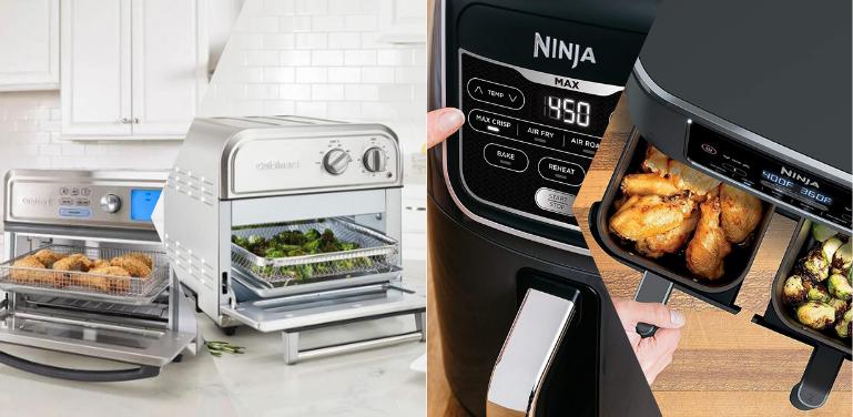 Cuisinart vs Ninja Air Fryer Oven Comparison
