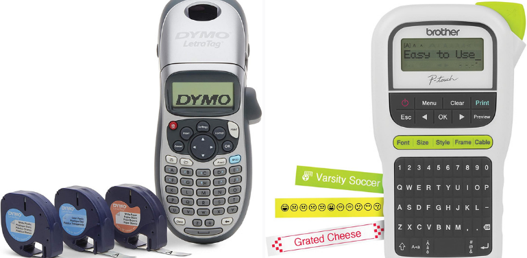 Dymo vs Brother Label Maker Portable Label Makers