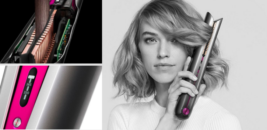 dyson corrale styling features