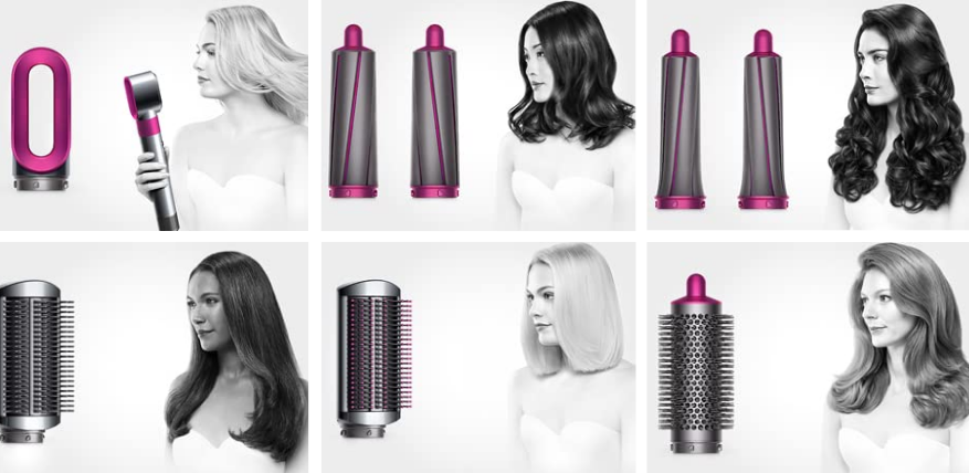 dyson airwrap styler attachments