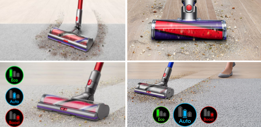 cleaning power dyson v11