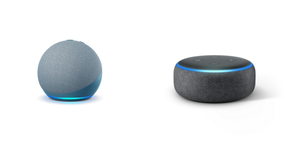 Echo Dot 4 vs 3 Design and Build