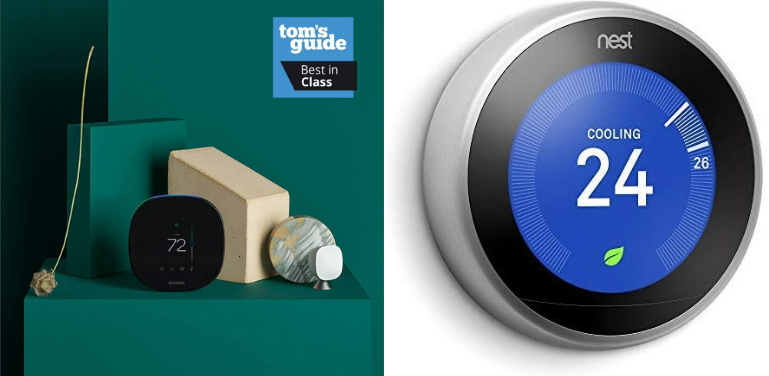 Ecobee vs Nest Thermostat Design