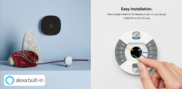 Ecobee vs Nest Thermostat Ease of Use