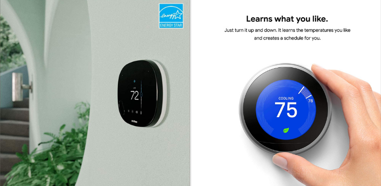 Ecobee vs Nest Thermostat Scheduling and Learning