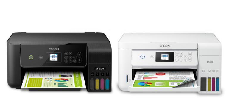 Epson EcoTank 2720 vs 2760 Design Comparison