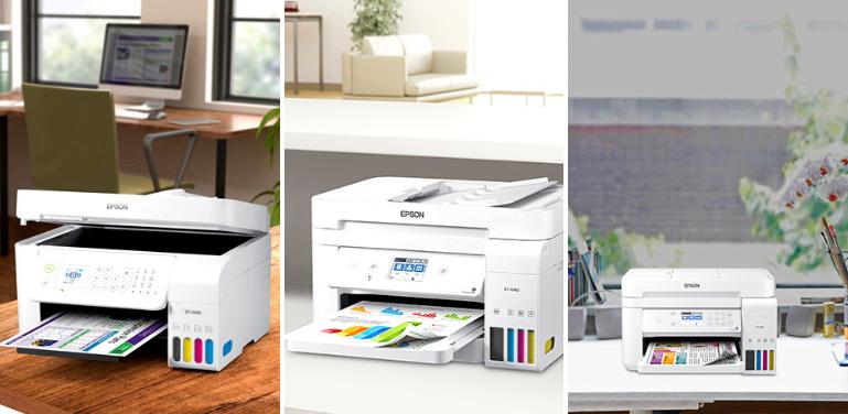 Epson EcoTank 4700 vs 4760 vs 3760 Printer Comparison