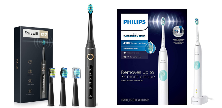 Fairywill vs Sonicare Best Budget Electric Toothbrush