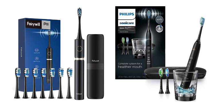 Fairywill vs Sonicare Best Premium Electric Toothbrush