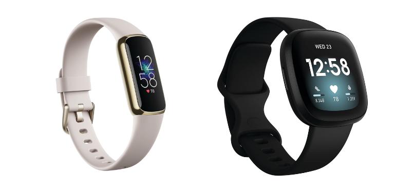 Fitbit Luxe vs Versa 3 Design Comparison