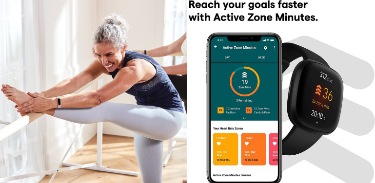 Fitbit Luxe vs Versa 3 Activity and Fitness Tracking