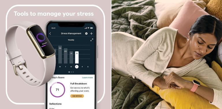 Fitbit Luxe vs Versa 3 Health Features