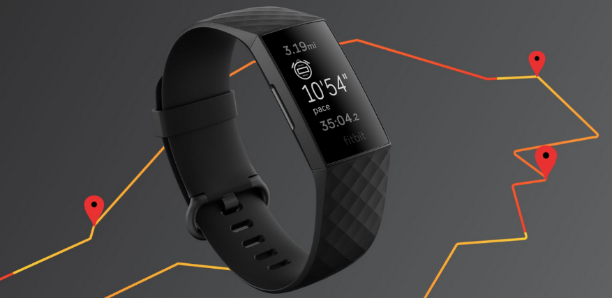 built-in GPS fitbit charge 4