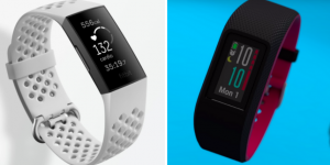 fitbit charge 4 vs garmin vivosport fitness tracker