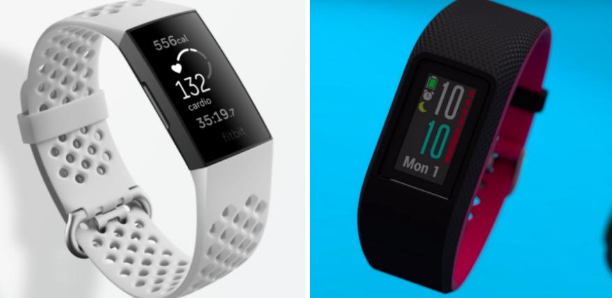 fitbit charge 4 vs garmin vivosport fitness tracker