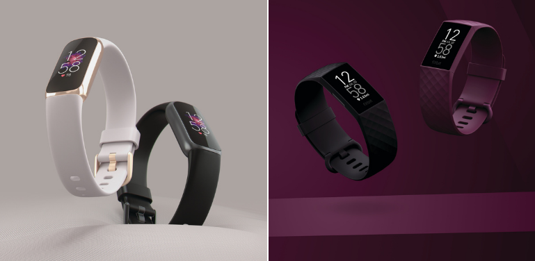 Fitbit Luxe vs Charge 4 Design and Style