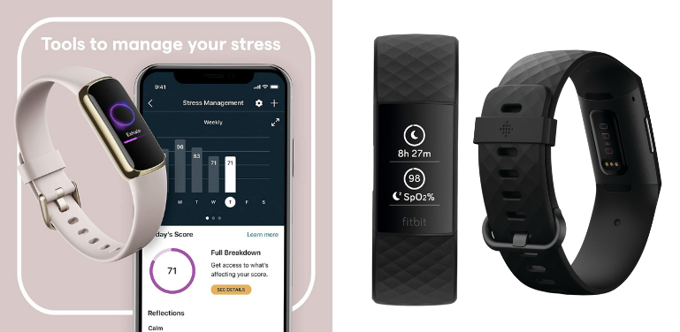 Fitbit Luxe vs Charge 4 Health and Wellness Review