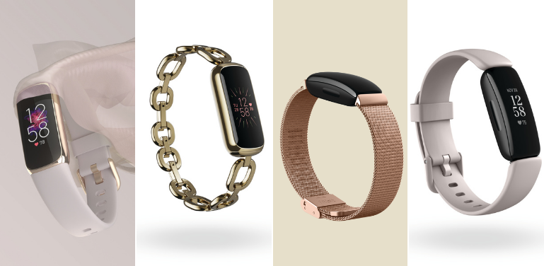 Fitbit Luxe vs Inspire 2 Design and Style