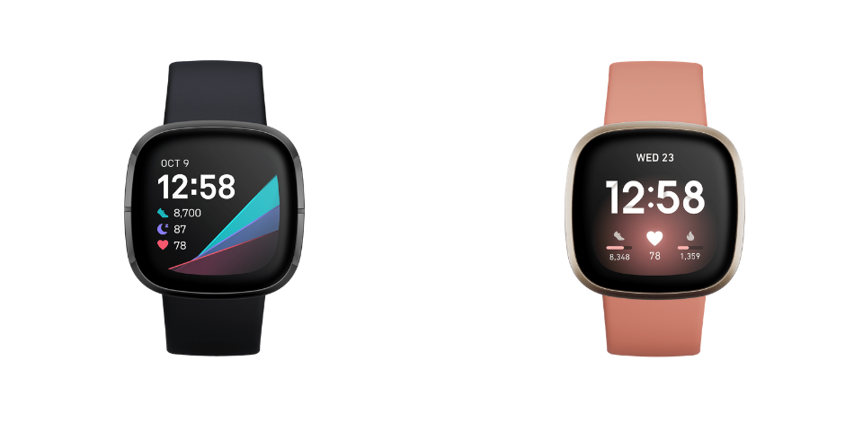 Fitbit Sense vs Versa 3 Design and Build