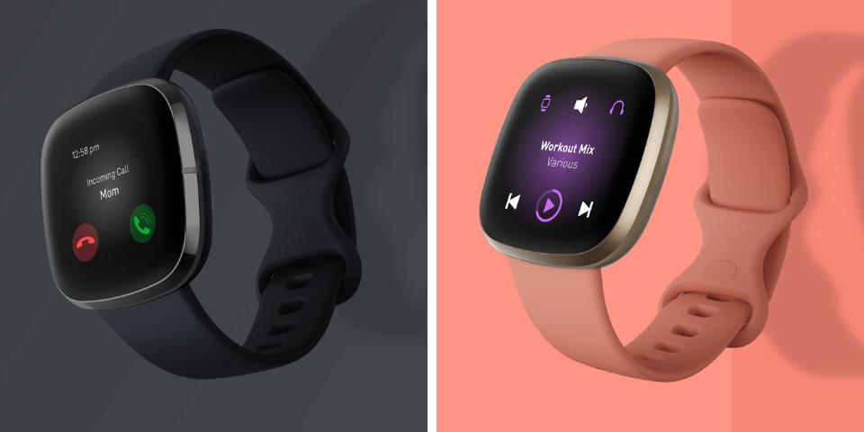 Fitbit Sense vs Versa 3 Smart Features