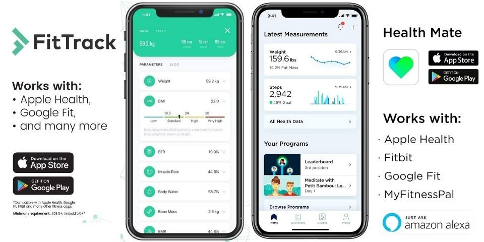 FitTrack vs Withings Scale Connectivity