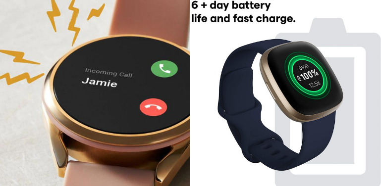Fossil Gen 5 vs Fitbit Versa 3 Battery Life and Other Features