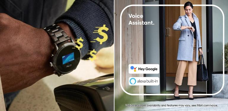 Fossil Gen 5 vs Fitbit Versa 3 Smart Features