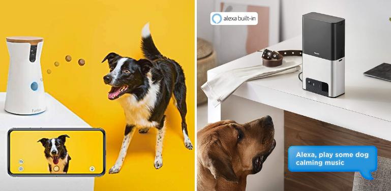 Furbo vs Petcube Bites 2 Pet Camera Treat Dispensing