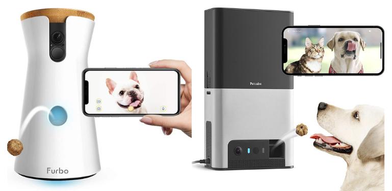 Furbo vs Petcube Bites 2 Pet Camera Comparison