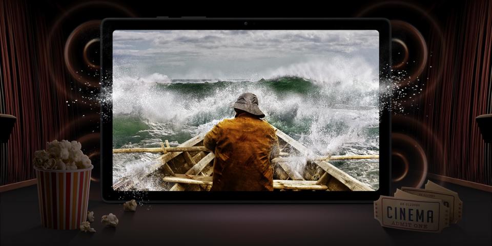Galaxy Tab A7 vs S6 Lite Display and Audio