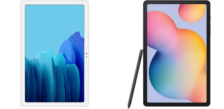 Galaxy Tab A7 vs S6 Lite