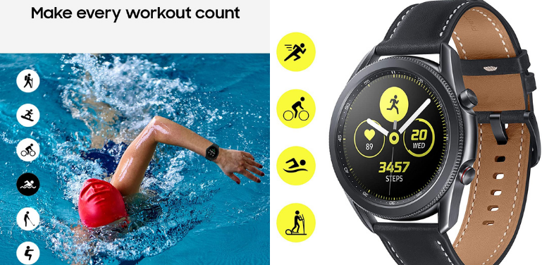 Samsung Galaxy Watch 4 vs Watch 3 Fitness Features