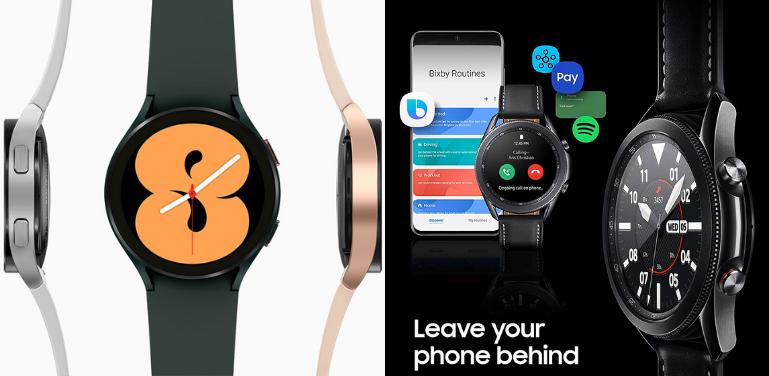 Samsung Galaxy Watch 4 vs Watch 3 Smart Features