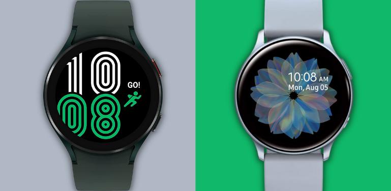 Samsung Galaxy Watch 4 vs Active 2 Comparison