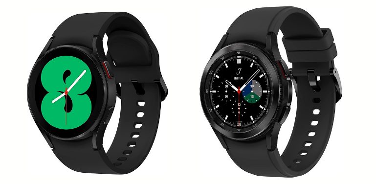 Samsung Galaxy Watch 4 vs Watch 4 Classic Design Comparison