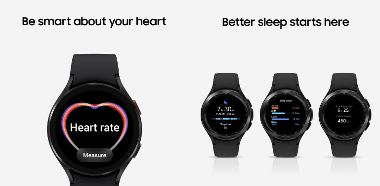 Samsung Galaxy Watch 4 vs Watch 4 Classic Fitness and Health Features