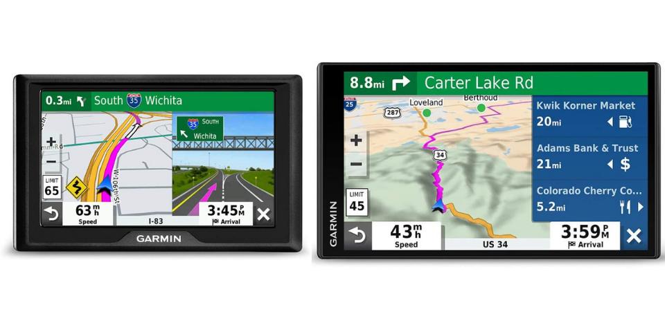 garmin drive vs drivesmart design and display