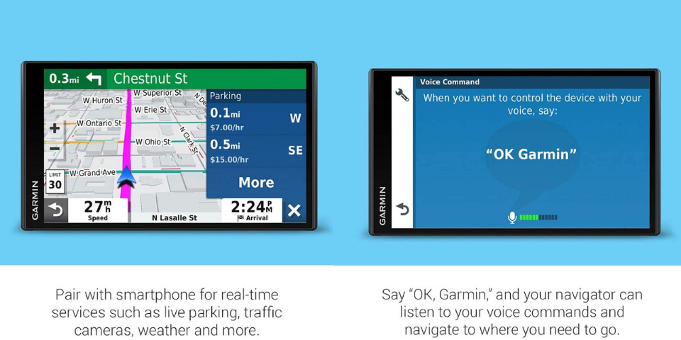 garmin drive vs drivesmart features