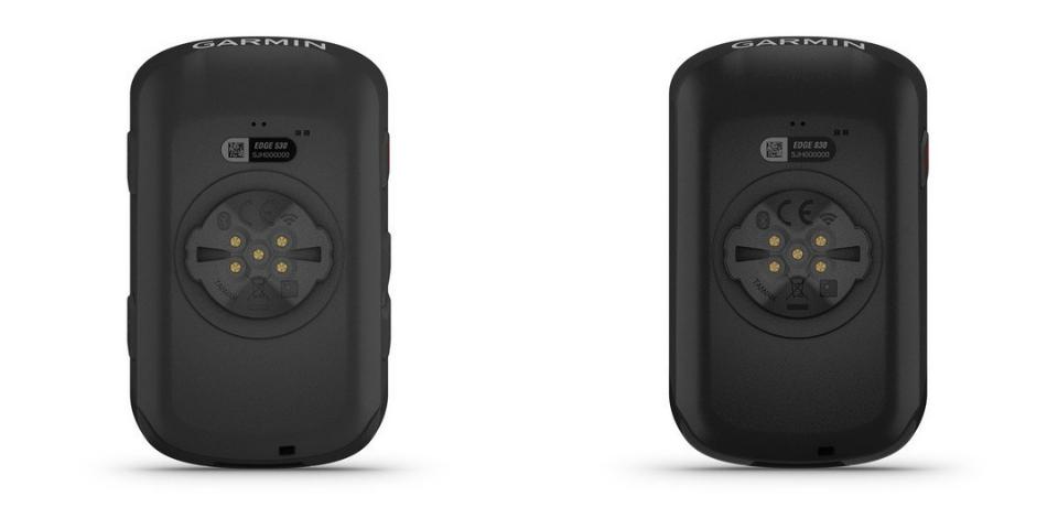 garmin edge 530 vs 830 battery and compatibility