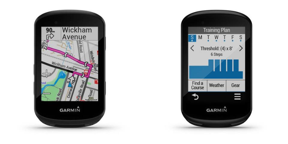 garmin edge 530 vs 830 display and controls