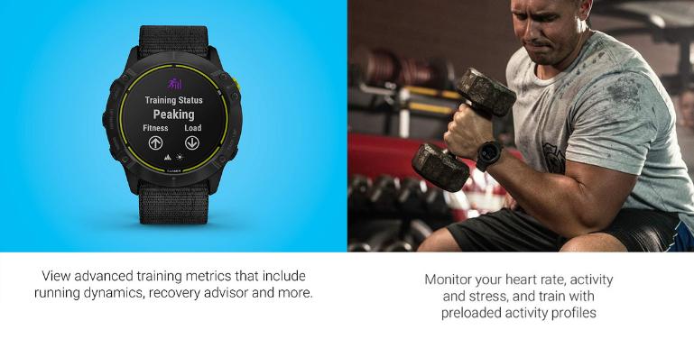 Garmin Enduro vs Instinct Training and Activity Tracking