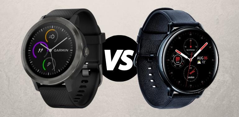 Garmin Vivoactive 3 vs Samsung Active 2 Comparison