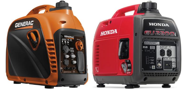Generac GP2200i vs Honda