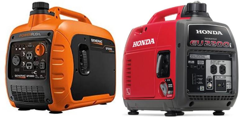 Generac GP3000i vs Honda