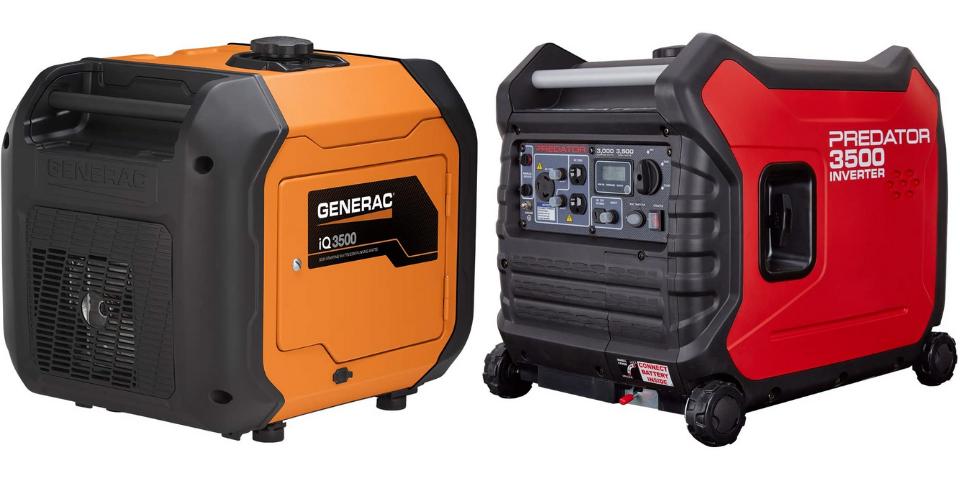 Generac iQ3500 vs Predator 3500 Performance