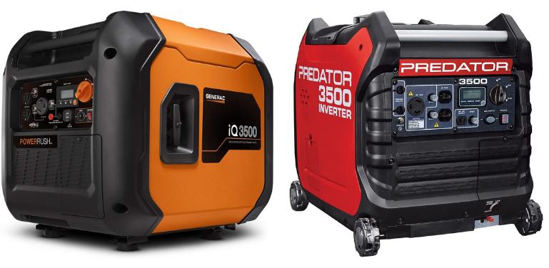Generac iQ3500 vs Predator 3500
